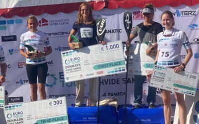 Caroline Küntzel vinder for første gang et Euro Tour race